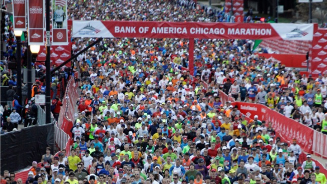 36,000 Apply For 15,000 Remaining Chicago Marathon Spots