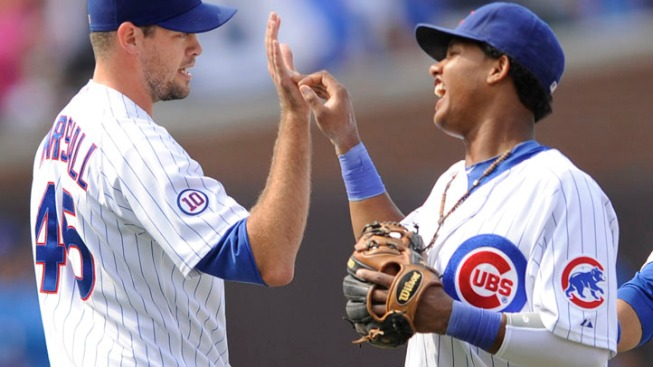 Dempster Leads Cubs Over Marlins