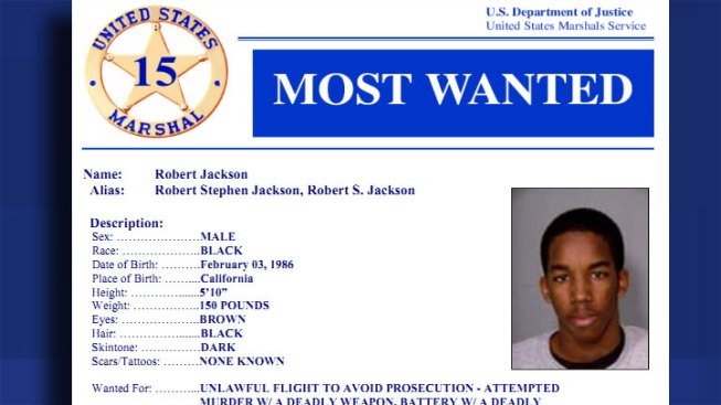 Cops Nab Man on U.S. Marshall's Top 15 List