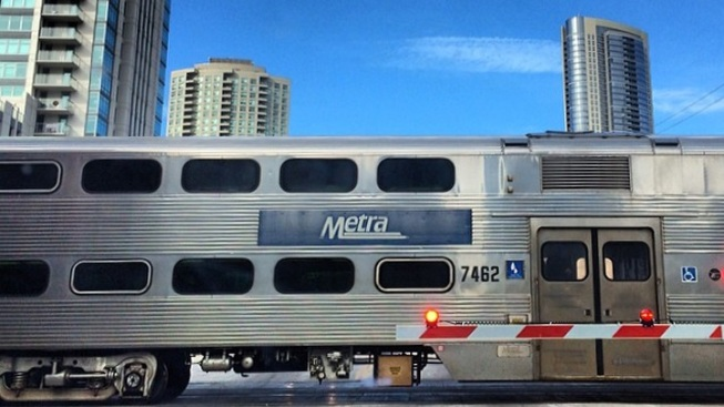 Metra BNSF Trains Delayed Because of Truck Striking Bridge
