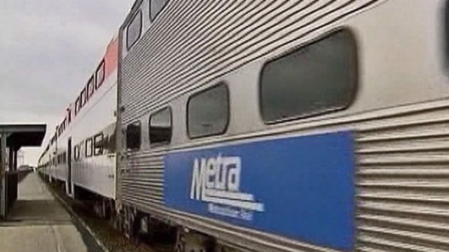 Metra train service delayed by treasure hunt game