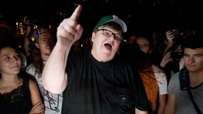 Michael Moore: Yeah, I'm in the 1 Percent