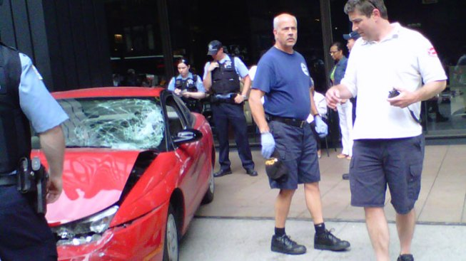 Wrong-Way Driver on Michigan Avenue Strikes Pedestrians