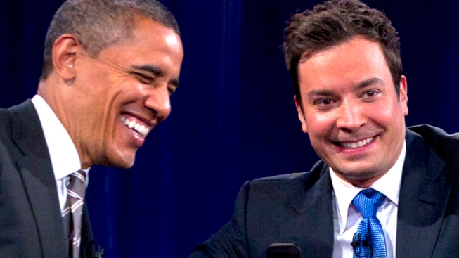 "Fallon Welcomes the ""POTUS with the Most-Est"""