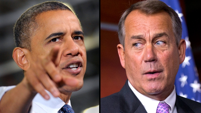 "Boehner: ""Serious Differences"" Remain Between White House, GOP on Fiscal Cliff"