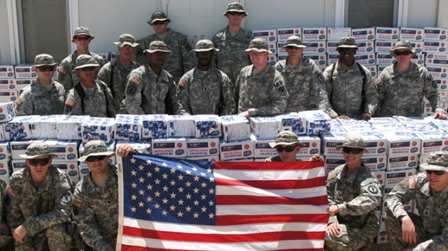 Champion Logistics Group Collects Care Packages for Operation Gratitude