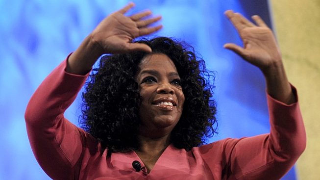 Oprah Lets Her Hair Down for Magazine