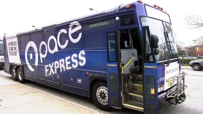 6 Transported to Hospital After Pace Bus Crash