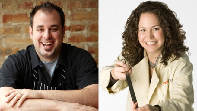 Chefs Izard, Pandel to Square Off in Quick Fire Competition