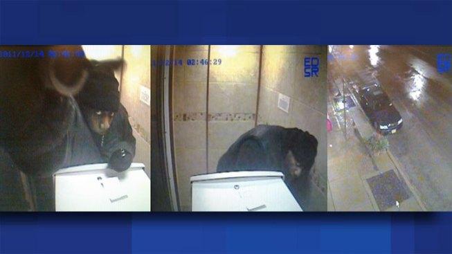 Surveillance Cams Catch Man Stealing ATM