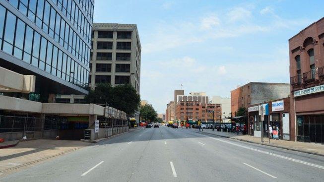 Oswald Exits Bus Between Lamar & Poydras Streets