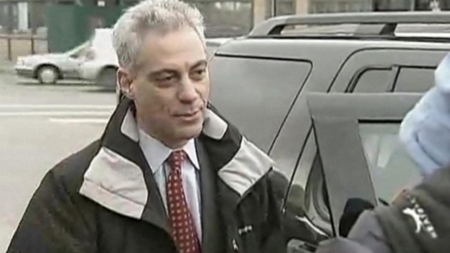 Emanuel Meets With Cubs' Epstein