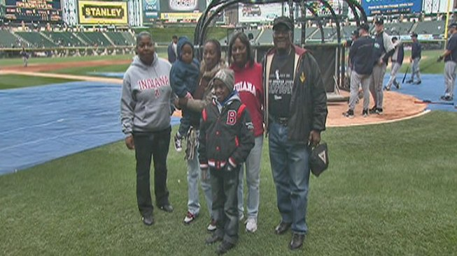 White Sox Celebrate Shooting Victim's Recovery