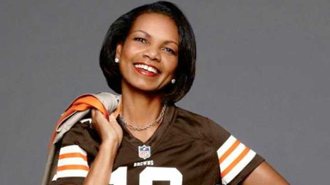 Condoleezza Rice Makes Her Modeling Debut with NFL