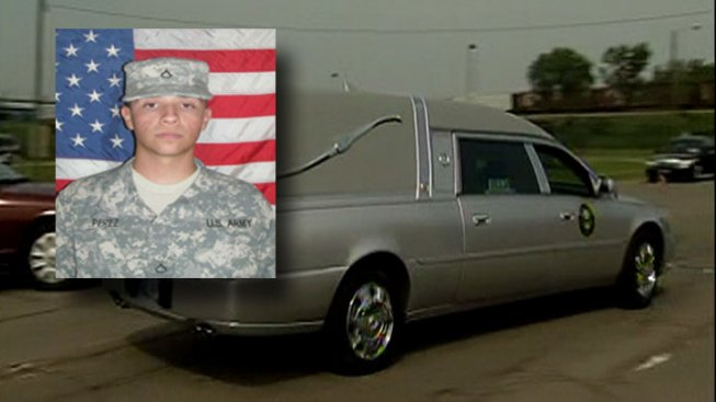 Body of Fallen Soldier Comes Home