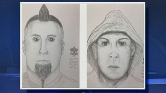 Sketch Released of Men Who Tried to Lure Kids into Van
