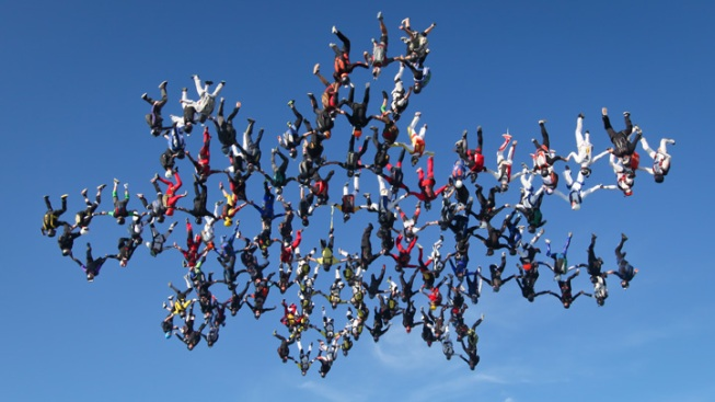 Vertical Skydiving World Record Broken in Illinois