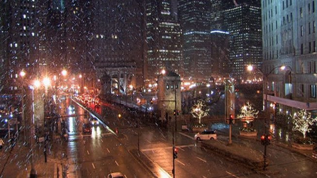 Wednesday Snow Brings Chicago Winter Total to 3 Inches
