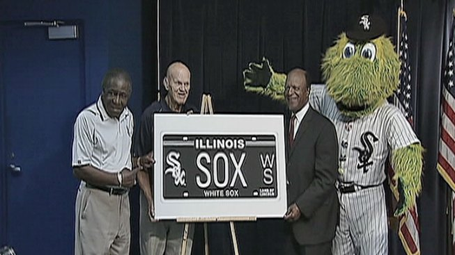 White Sox License Plate Unveiled