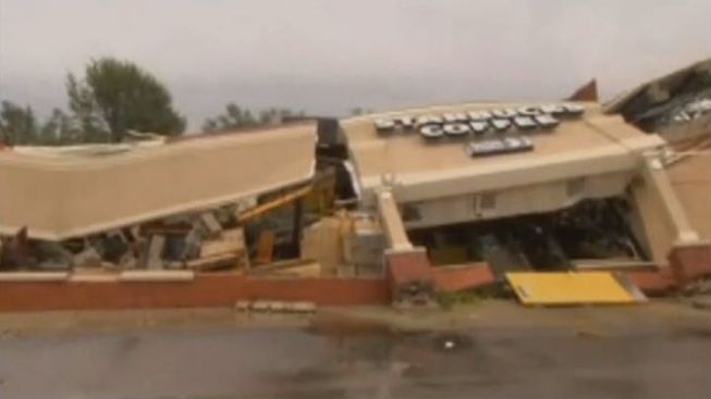 Tornado Touches Down in Indiana, Levels Starbucks