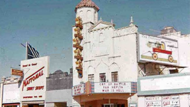 Oswald Arrested at Texas Theatre