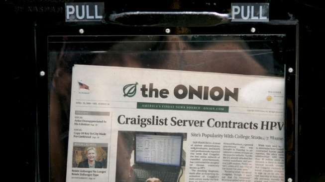 """The Onion Day"" Declared in Chicago"