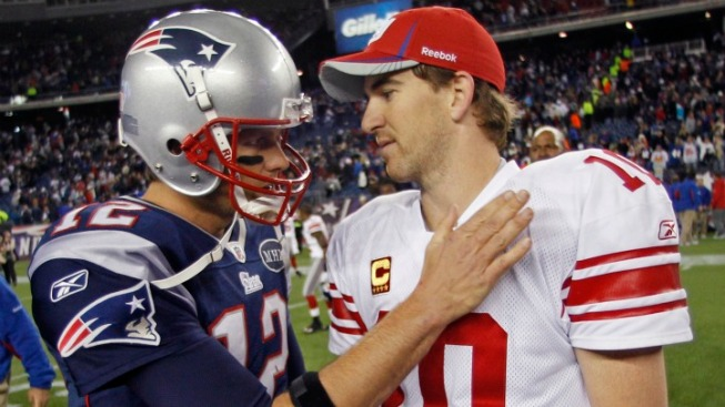 Tom Brady and Eli Manning: Two Sides of the Same Coin