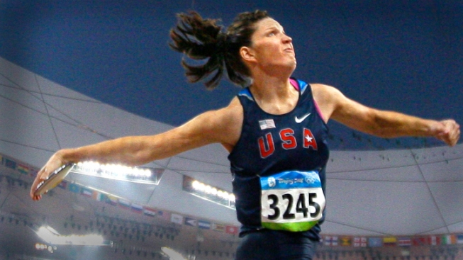 Brown Trafton Wins at Trials; Gets Chance to Defend Discus Gold