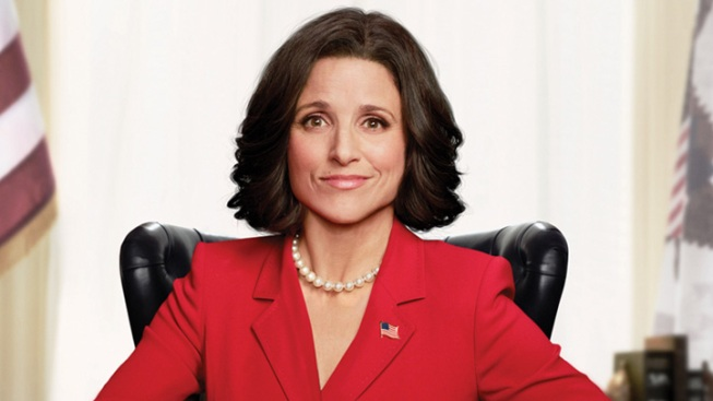 """Veep's"" Julia Louis-Dreyfus Lunches with Biden"