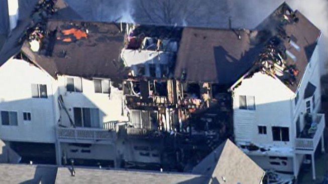 Fire Badly Damages Wadsworth Townhome
