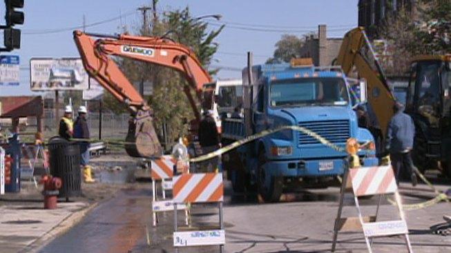 "Water Main Break ""Underscores Urgency,"" Mayor Says"