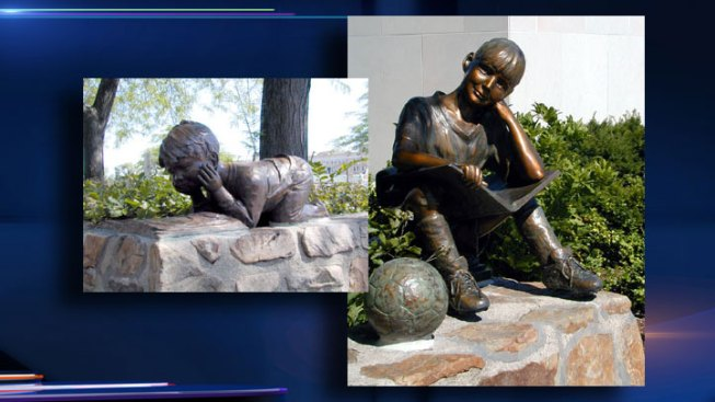 Library Determining Next Step after Sculpture Thefts