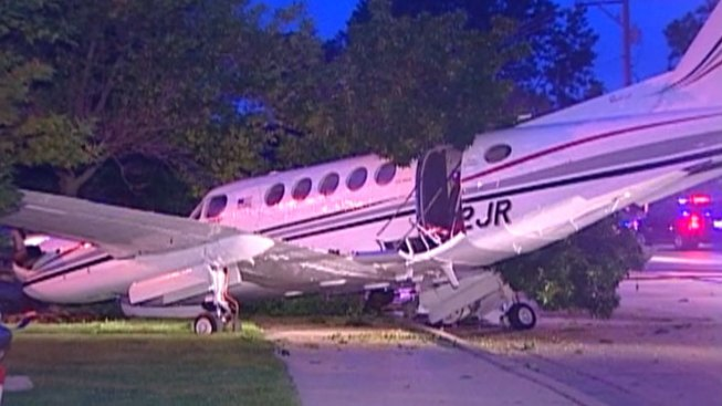 "Plane Makes ""Hard Landing"" in Wheeling"