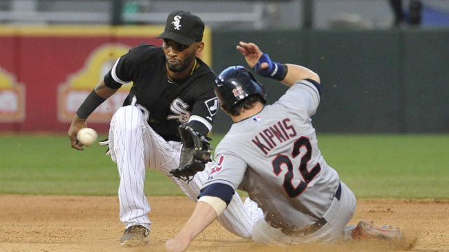 Indians Top Sox in First Game of Doubleheader