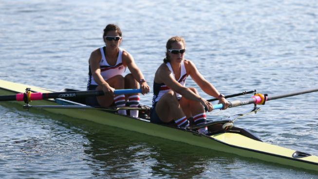 Illinois Olympic Rowers Miss Medals