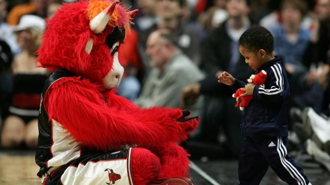 Benny the Bull Attacked