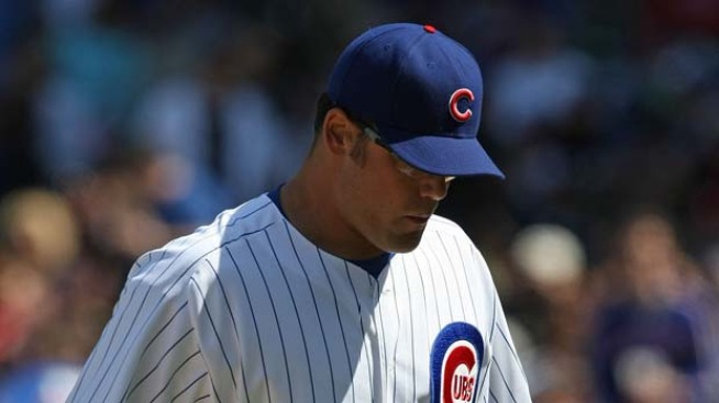 Gregg's Meltdown Costs Cubs in 9-5 Loss to Braves