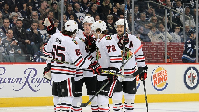 Jets Beat Blackhawks 3-1, Snap Chicago's Winning Streak