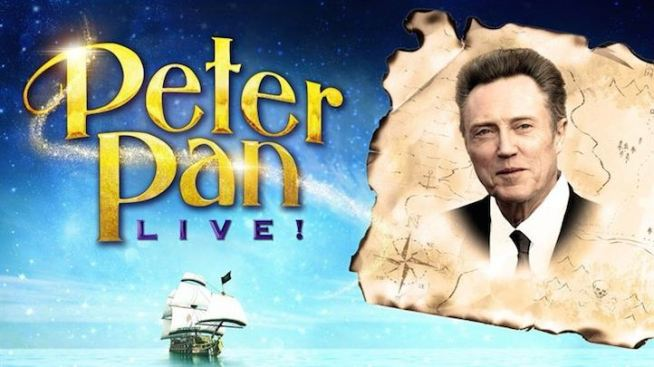 "Christopher Walken to Play Captain Hook in NBC's ""Peter Pan Live"""