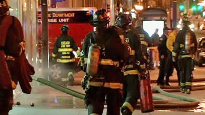 No Injuries Reported in Michigan Avenue Fire