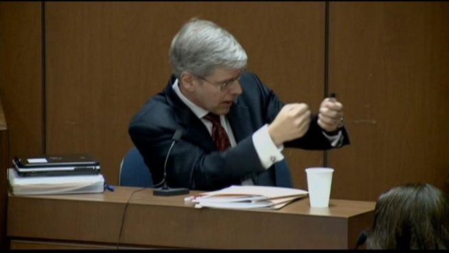 Prosecution witness shoots down the defense's theories in testimony today. NBC4's Patrick Healy reports.