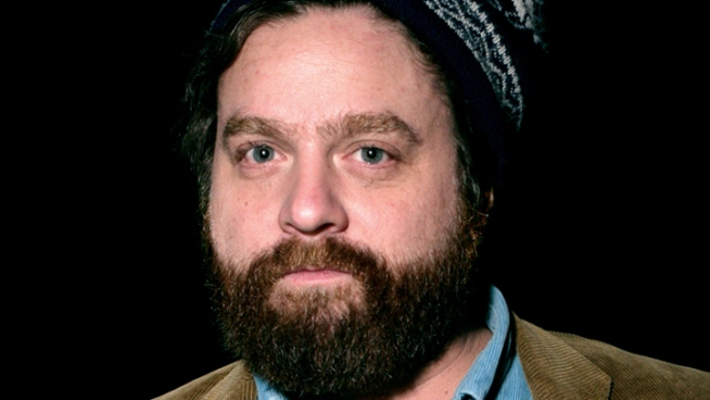 Zach Galifianakis' TV Hangover