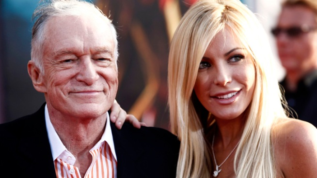 Hugh Hefner, Crystal Harris Marry at Playboy Mansion