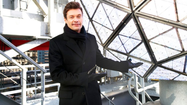 Seacrest Hosts New Year's Rockin' Eve, Without Dick Clark