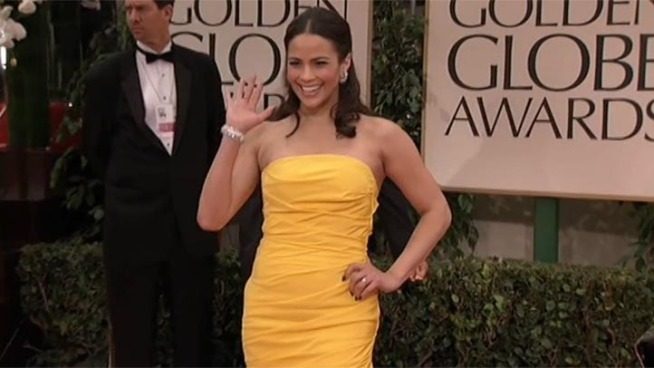 Actors, actresses, producers, writers, directors and the rest of Hollywood's top brass arrive on the red carpet for the 69th annual Golden Globes.