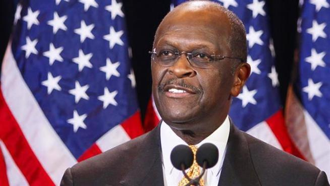 Republican presidential candidate Herman Cain on Tuesday said there was no truth to a Chicago-area woman's claims of sexual harassment and said he wasn't going to let the allegations derail his campaign.
