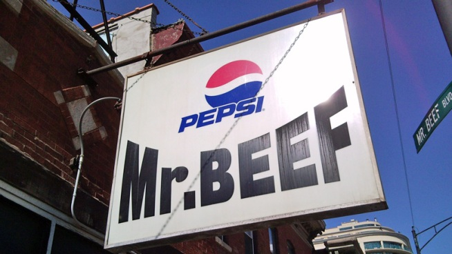 One More Thing About Mr. Beef