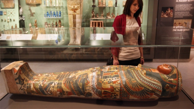 """Mummies"" on Display Next Month"