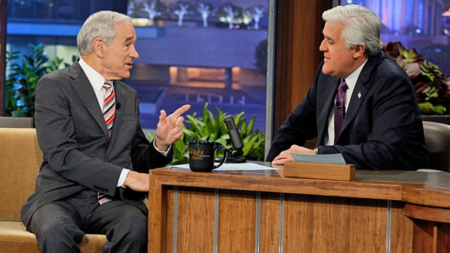 Ron Paul On Leno: We Will Win Conscience Votes At Brokered Convention NUP 149094 0338