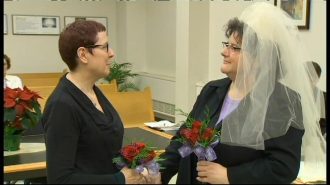 You may hear wedding bells just after midnight tonight.   Same-Sex couples in Maryland are preparing to legally get married.Marylanders approved marriage equality in the November election. The new law goes into effect at the stroke of midnight. Some couples plan on tying the knot right away.At least one couple plans on saying